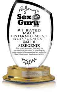 Male Enhancement Of The Year Award